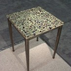 Terrazzo-End-Table-Forged-Steel-Base